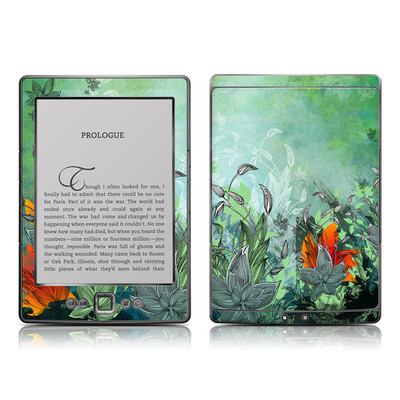 Kindle 4 Skin - Sea Flora