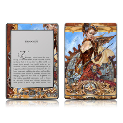 Kindle 4 Skin - Steam Jenny