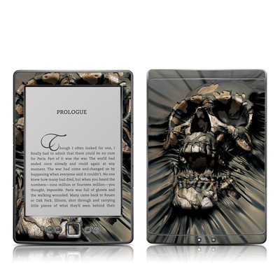 Kindle 4 Skin - Skull Wrap