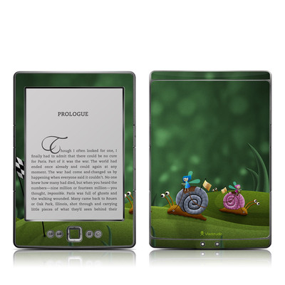Kindle 4 Skin - Snail Race