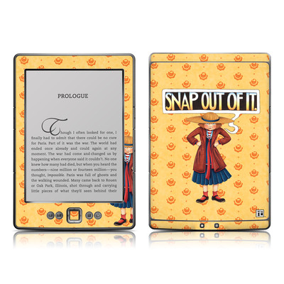 Kindle 4 Skin - Snap Out Of It