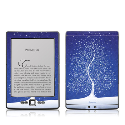 Kindle 4 Skin - Snowflakes Are Born