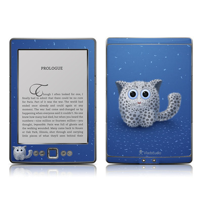 Kindle 4 Skin - Snow Leopard