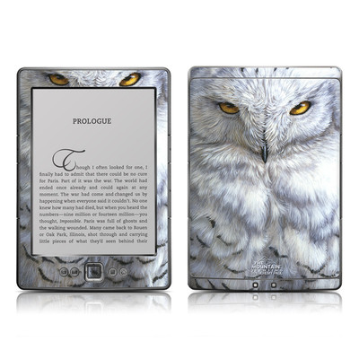 Kindle 4 Skin - Snowy Owl