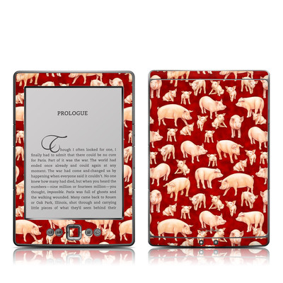 Kindle 4 Skin - Some Pig