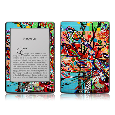 Kindle 4 Skin - Spring Birds