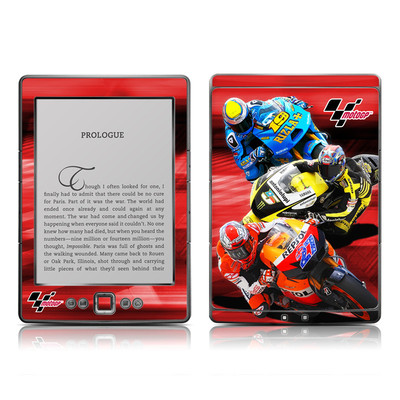 Kindle 4 Skin - Speed Collage