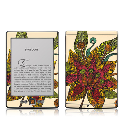 Kindle 4 Skin - Spring Flower