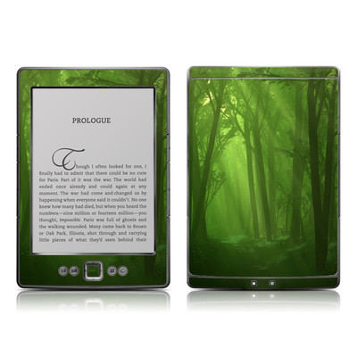 Kindle 4 Skin - Spring Wood