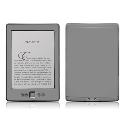 Kindle 4 Skin - Solid State Grey