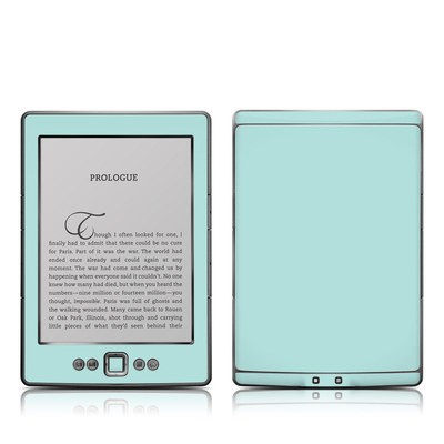 Kindle 4 Skin - Solid State Mint