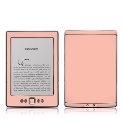 Kindle 4 Skin - Solid State Peach