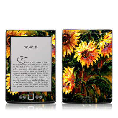 Kindle 4 Skin - Sunflower Sunshine
