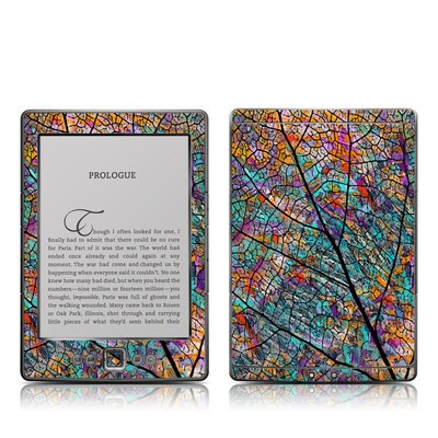 Kindle 4 Skin - Stained Aspen