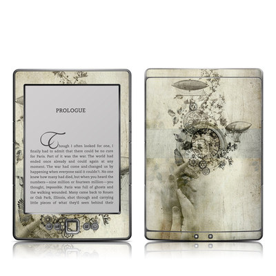 Kindle 4 Skin - Steamtime