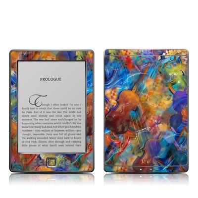 Kindle 4 Skin - Strings & Things