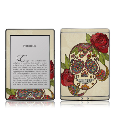 Kindle 4 Skin - Sugar Skull