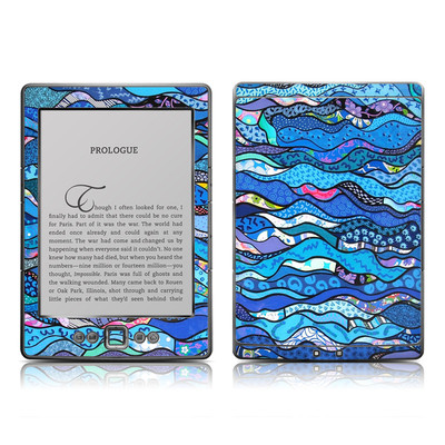 Kindle 4 Skin - The Blues