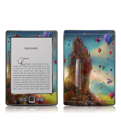 Kindle 4 Skin - The Festival