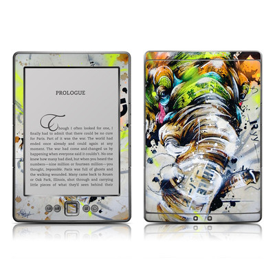 Kindle 4 Skin - Theory