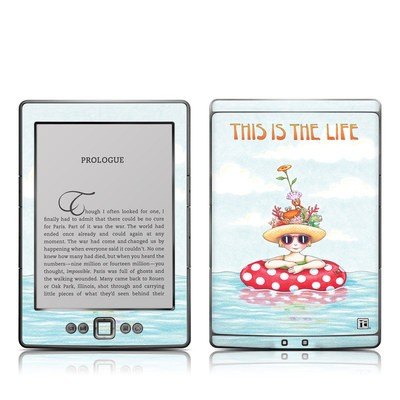 Kindle 4 Skin - This Is The Life