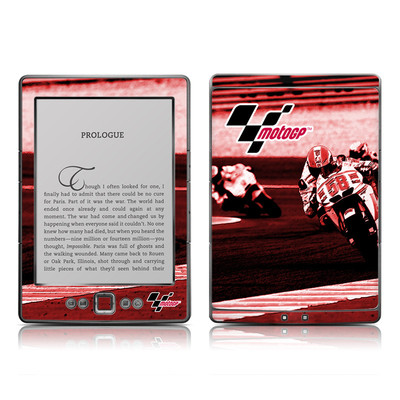 Kindle 4 Skin - Throttle