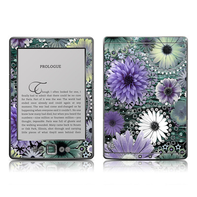Kindle 4 Skin - Tidal Bloom