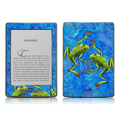 Kindle 4 Skin - Tiger Frogs
