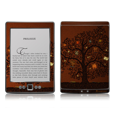 Kindle 4 Skin - Tree Of Books