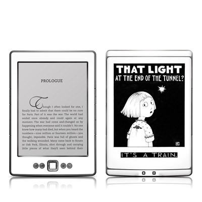 Kindle 4 Skin - Train Tunnel