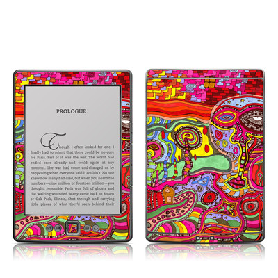 Kindle 4 Skin - The Wall
