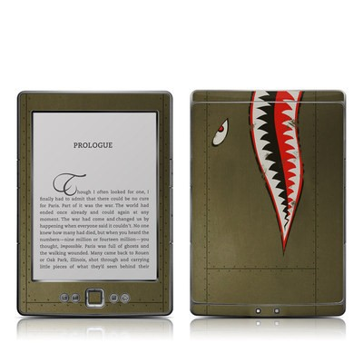 Kindle 4 Skin - USAF Shark