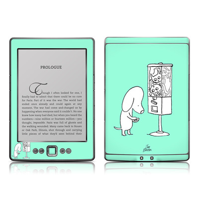 Kindle 4 Skin - Vending