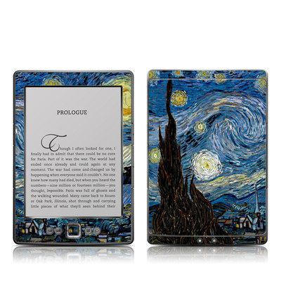 Kindle 4 Skin - Starry Night