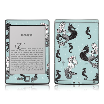 Kindle 4 Skin - Vintage Mermaid
