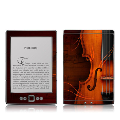 Kindle 4 Skin - Violin