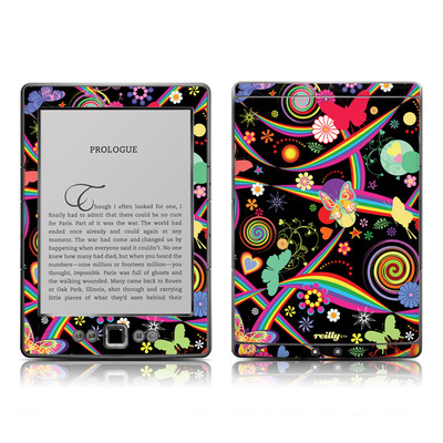 Kindle 4 Skin - Wonderland