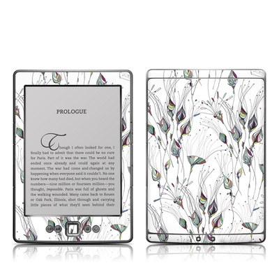 Kindle 4 Skin - Wildflowers