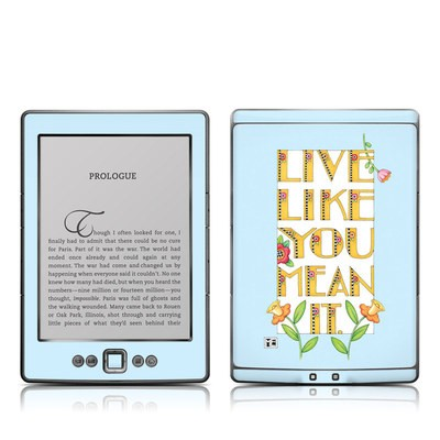 Kindle 4 Skin - Mean It