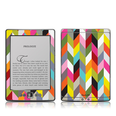 Kindle 4 Skin - Ziggy Condensed