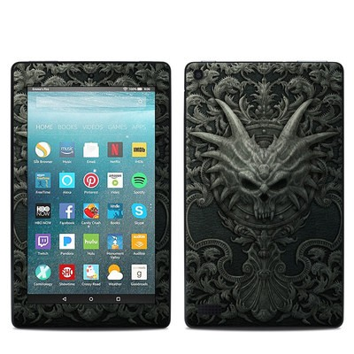 Amazon Kindle Fire 7in 7th Gen Skin - Black Book