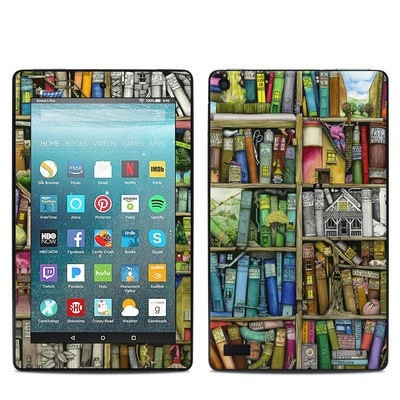 Amazon Kindle Fire 7in 7th Gen Skin - Bookshelf