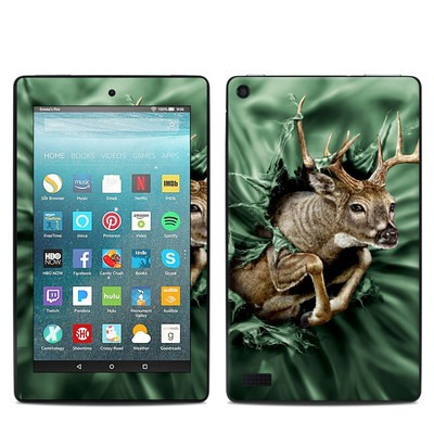 Amazon Kindle Fire 7in 7th Gen Skin - Break Through Deer