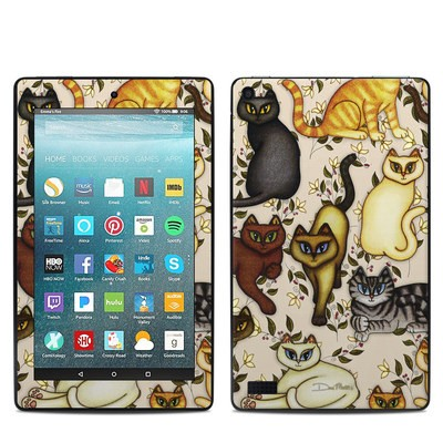 Amazon Kindle Fire 7in 7th Gen Skin - Cats