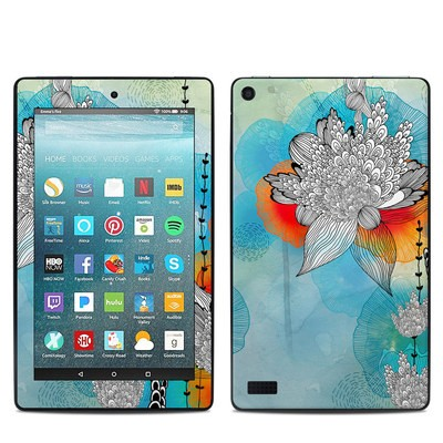 Amazon Kindle Fire 7in 7th Gen Skin - Coral