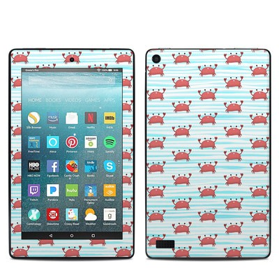 Amazon Kindle Fire 7in 7th Gen Skin - Crabby