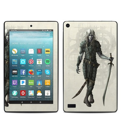 Amazon Kindle Fire 7in 7th Gen Skin - Dark Elf