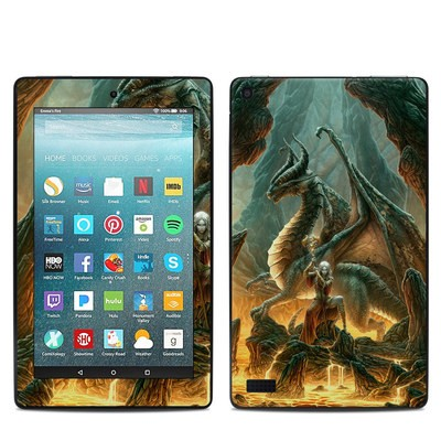 Amazon Kindle Fire 7in 7th Gen Skin - Dragon Mage