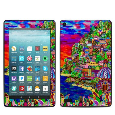 Amazon Kindle Fire 7in 7th Gen Skin - Dreaming In Italian
