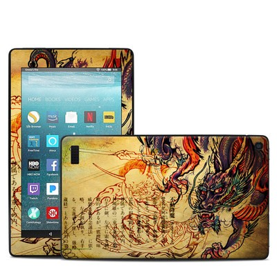 Amazon Kindle Fire 7in 7th Gen Skin - Dragon Legend
